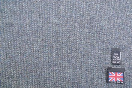 100% Pure New Wool Classic Tweed Fabric BZ30